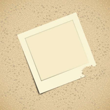 snapshot: Illustration of sand with blank snapshot Illustration