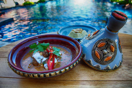 moroccan cuisine: moroccan food Stock Photo