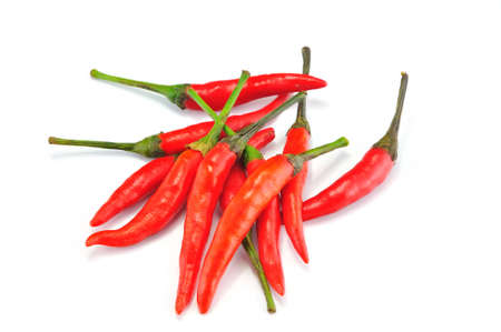 red chilly: Red Chilly on White background