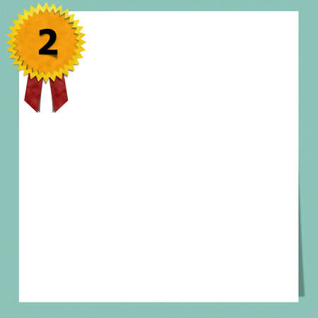 blank certificate paper on color background stock photo picture and