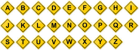Consonant Set Created For Mobile, Web And Applications Stock Photo