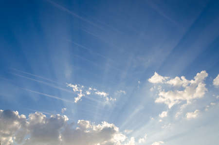 heaven: Magic of the sky in the daytime And the line of clouds.