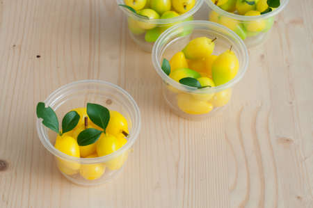 delectable: Delectable imitation fruits (Kanom Look Choup), Thai National Dessert.