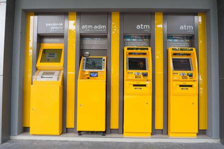automatic teller machine: CHONBURI- Augsut 20 : Automatic Teller Machine, ATM  in Thailand on August 20, 2016 in Chonburi, Thailand.