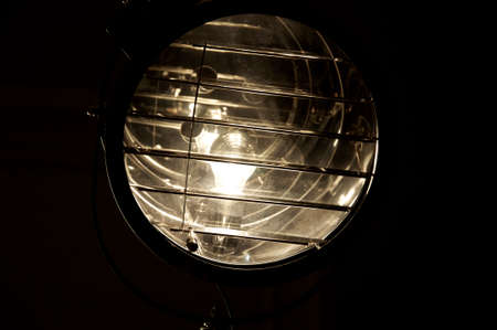 lamp light: A light in a lamp
