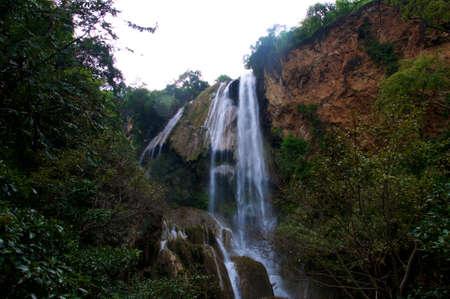 resemble: Erawan Waterfalls resemble an elephants head