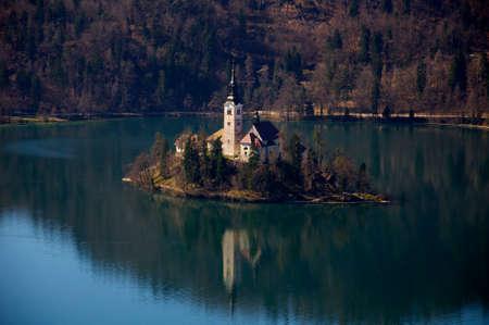 assumption: Church of Assumption in lake Bled
