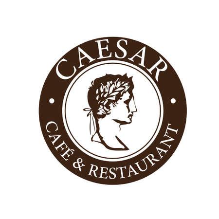 Caesar logo vector  イラスト・ベクター素材