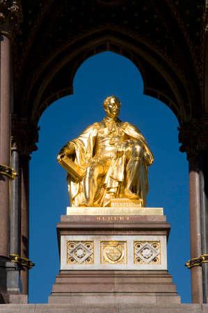 Statue of Prince Albert in the Albert Memorial