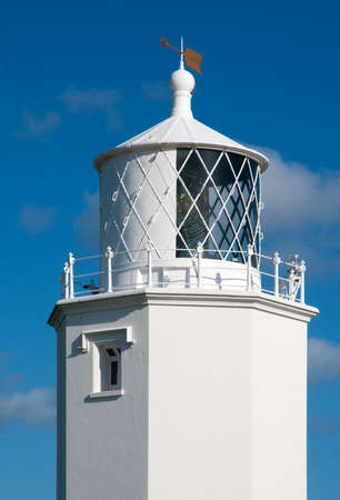 The light house at Lizard Point, Cornwall