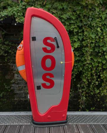 SOS Lifebelt Station