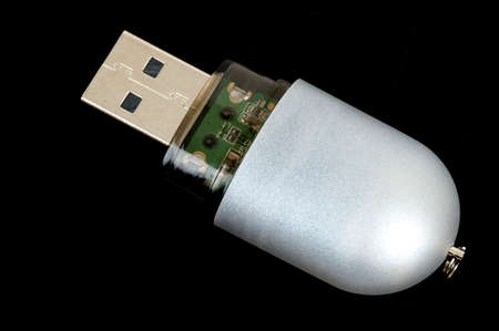 A USB stick for storage of computer data