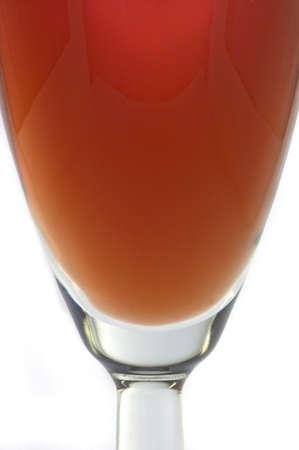 A glass of rose wine 版權商用圖片