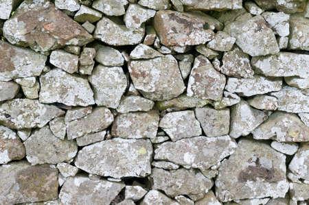 Dry Stone Wall 版權商用圖片