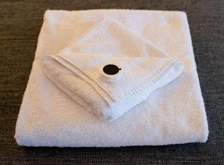 Hotel Towels & Soap 版權商用圖片
