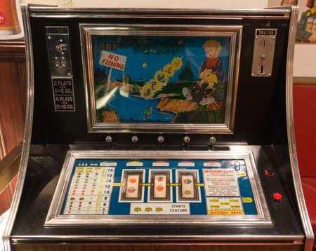 Old 1960s Gaming Machine