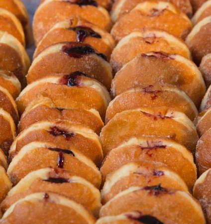 Jam Doughnuts 版權商用圖片