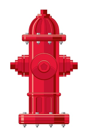 Fire Hydrant Stock Vector - 9524061