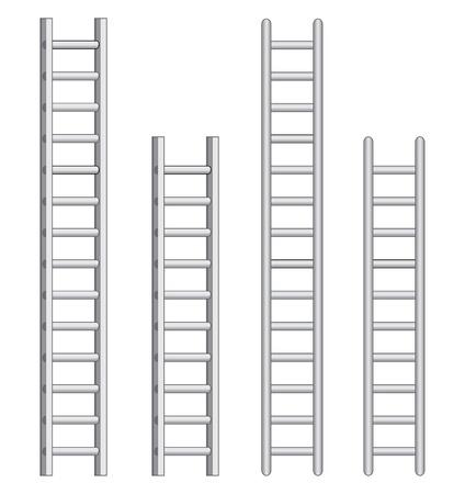 Ladders illustration. Stock Vector - 9565816