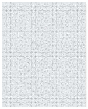 Puzzle 500 Pieces is an illustration of a blank 500 piece puzzle  Each piece is an individual object