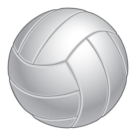 screen print: Illustrazione pallavolo in bianco e nero. Grande per la stampa o la stampa dello schermo. Vettoriali