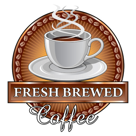 Coffee Ontwerp Zonnestraal Stockfoto - 24633306