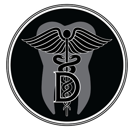 Dentist Medical Symbol Graphic Style