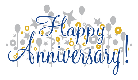 Happy Anniversary Banner is a design that would be great for any anniversary party or celebration. Can be used for flyers, invitations, t-shirts, etc.