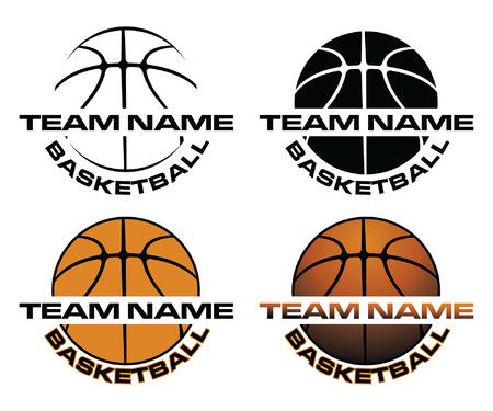 Basketball Designs emblem set