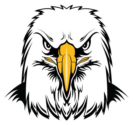 Bald Eagle Head is a graphic style illustration of an eagles head. Perfect for an Eagles mascot.