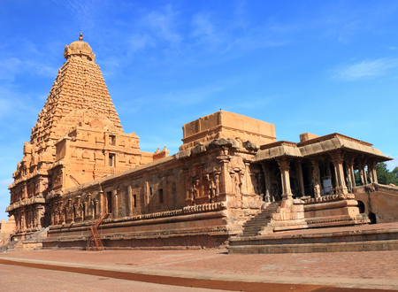 sepulcher: shrine and temple pagoda gopuram Stock Photo