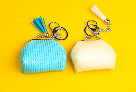 shoulder buttons: bright and shiney Small colorful purses