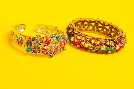 anklet: Costume jewelry ornamental decorated bracelets