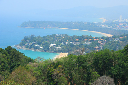 kata: Kata and karon beach phuket thailand Stock Photo