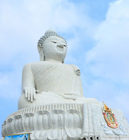 godhead: big bhudda Buddha statue phuket Thailand Stock Photo