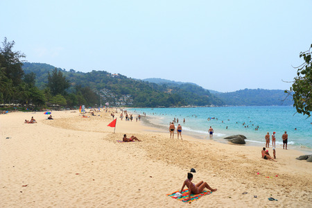 kata: Kata beach phuket thailand Stock Photo