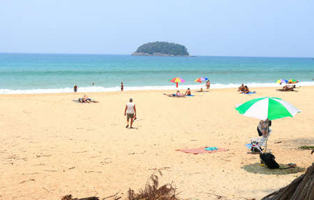 phuket: Kata beach phuket thailand Editorial