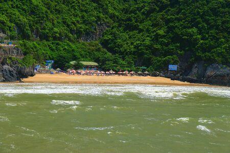 cat ba cat coi cat co beach ha long bay vietnam Zdjęcie Seryjne
