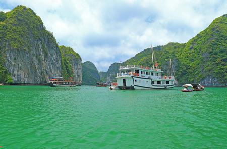 long bay: ha long bay cat ba islands and rock formations Editorial