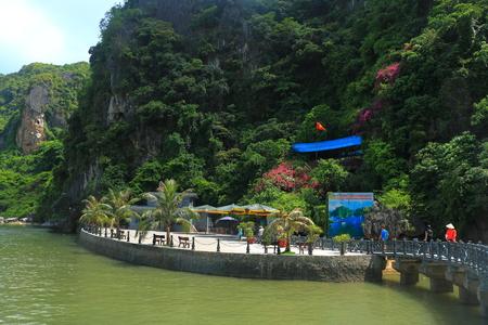 ba: cat ba caves ha long bay vietnam