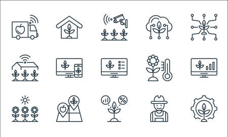 stationery line icons. linear set. quality vector line set.