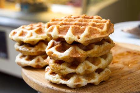 Waffles Florence Italy 版權商用圖片