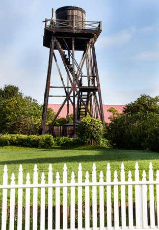 wody wieży: Mendocino zabytkowej wieży ciśnień