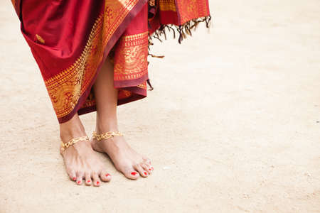 Pretty Jeweled Dancers feet photo