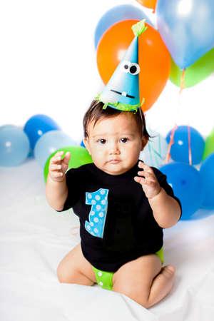 first birthday: Babie