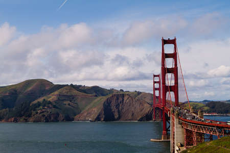 Golden Gate Bridge in San Francisco, California from the Park photo