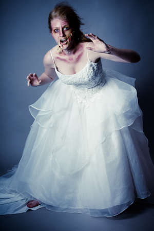Zombie Bride wedding nightmare photo