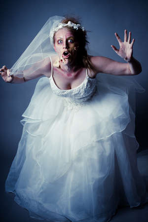 Woman as a Zombie Bride
