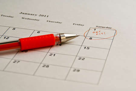 A New Year's resolution Stock Photo - 7978701