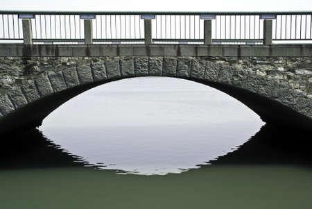 A stone bridge over the ocean at Wakayama